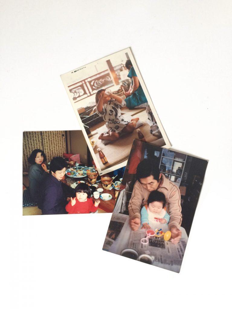 Yumi's family photos