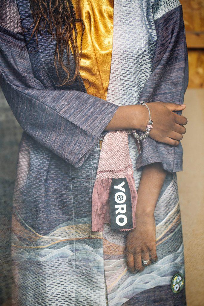 4649.REC - Upcycled Kimono Coat